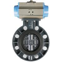 Soupape DN20-DN300 de PVC