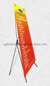 Coreia grande X Banner Stand (pólo de alumínio) (FZS-X-22)