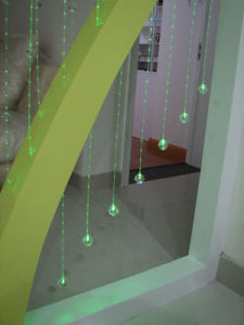 Het Optische Gordijn van de vezel voor Decoratieve Gang