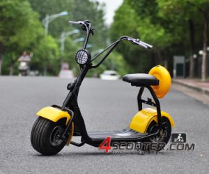 roues de voiture 2016 citycoco 1000w 72v scooter motocyclette lectrique roues de voiture 2016. Black Bedroom Furniture Sets. Home Design Ideas