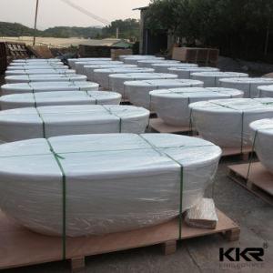 baignoire ovale debout libre corian de surface solide en gros de la chine baignoire ovale. Black Bedroom Furniture Sets. Home Design Ideas