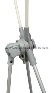 Carrinho ajustável Vortical da bandeira de X (pólo de alumínio) (FZS-X-23)