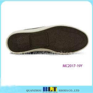 Sapatas elevadas da sapatilha da lona
