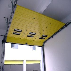 Porte industrielle sectionnelle de levage verticale - Prix porte sectionnelle industrielle ...