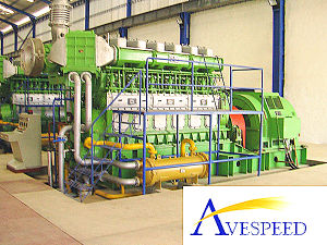 Avespeed Series Experienced Several Successful Projects для генераторной станции Hfo Diesel Power