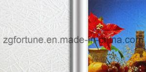 Papel de parede de gravação do Eco-Solvente (branco, lustrosos)