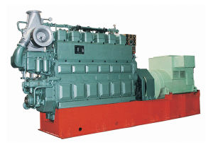 120kw Medium Speed Marine Generator Set с CCS Certificate