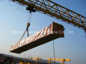 U Gantry Modelo de doble viga ferroviario montado grúa de contenedores