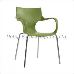 Silla pl stica moderna del brazo silla pl stica del ocio for Sillas plasticas modernas