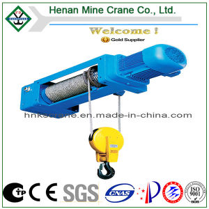 CE GOST Certificated Electrical Rope Pulling Hoist con Control Push Button (HC Model)