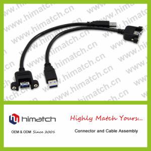 Câble USB 2.0 un mâle à mâle de B