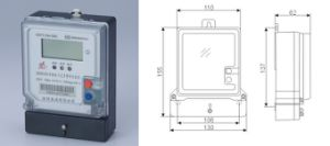 Multi-Trariff medidores eletrônicos monofásicos do Watt-Hour Ddsf450