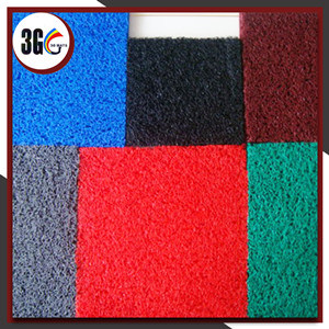 Bon couvre-tapis d'étage de coussin de PVC de poids en roulis