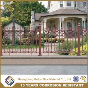 valla de hierro ornamental y puerta para jardn de infancia