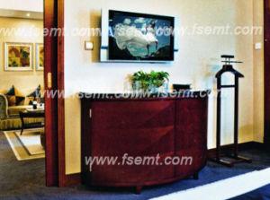 Meubles en bois de chambre à coucher moderne chaude de l'hôtel 2016 (EMT-C1202)