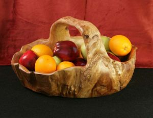 Delicate 2015 et Elegant Root Carving - Root Fruit Basket