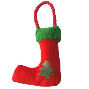 Weihnachtssocken-Baum-Drucken, Haustier-Spielzeug