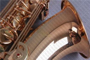 Laque d'or de /Saxophone/Saxophone de saxophone de teneur (Canex SAT-L)