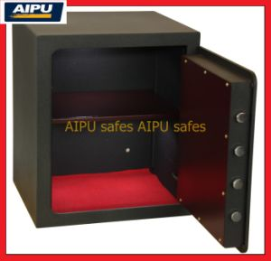 Laser à mur unique Cut Door Home et Office Safes avec Double Bitted Key Lock (LSC515-K/515 x 435 x 390 millimètres)