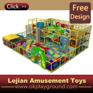 CE Indoor Playground Equipment Commercial Terrain de jeux