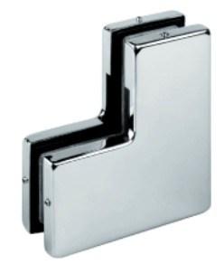 Encaixe de vidro da correção de programa da braçadeira da porta (FS-173)