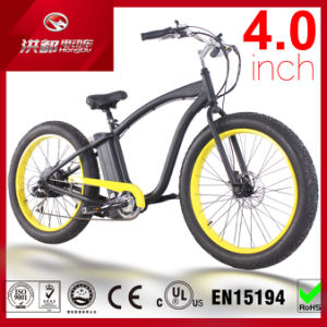 Fat Tire 500W Beach Cruiser Electric Bike di Inch Wide del terreno 4.0 di Cruiser 48V13ah All della città