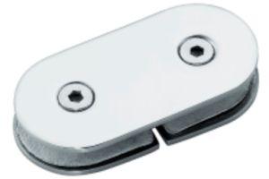 Encaixe do quarto de chuveiro do suporte de vidro do painel (FS-516)