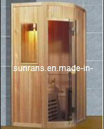 De hete Cabine van de Sauna van de Verkoop Openlucht Natte Infrarode (SR132)