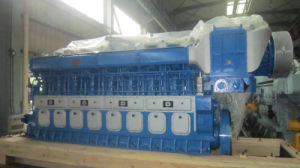 Двигатель скорости средства Dn330 3310kw-4045kw 600rmp тепловозный морской
