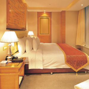 Meubles luxueux de chambre à coucher d'hôtel d'étoile réglés (EMT-A1201)