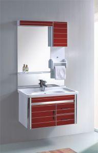 PVC浴室用キャビネットの浴室の家具の虚栄心(351)