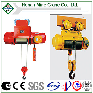 Monocarril Electric Wire Rope Hoist (CD o MD)