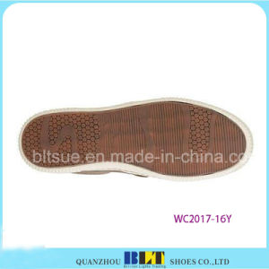 Sapatas superiores de couro do estilo do negócio da forma