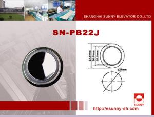 Höhenruder-Edelstahl-Taste (SN-PB22J)