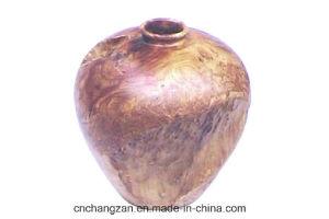 L'urne en bois exceptionnelle fantastique classique de racine de XL