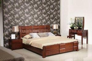 Camas matrimoniales modernas de la cama de madera s lida for Cama matrimonial moderna grande