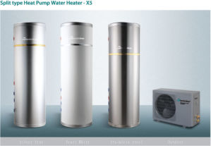 Doble Energía de calor del calentador de agua de bomba