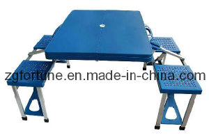 Tabela e cadeira pínicas plásticas (ZDZY)