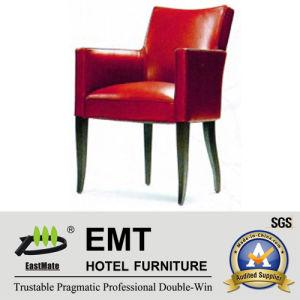 Chaise rouge lumineuse attrayante de loisirs d'hôtel (EMT-HC71)