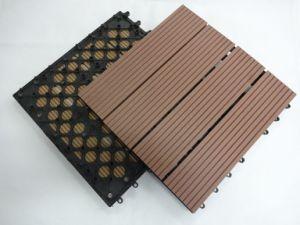 le decking ext rieur de bois de construction de teck. Black Bedroom Furniture Sets. Home Design Ideas