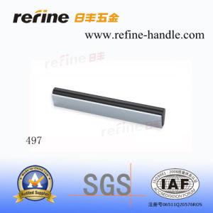 Poignée en aluminium de Cabinet de matériel de meubles (L-497)