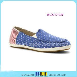 Melhor Design Canvas Boat Women Shoes