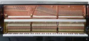 Piano droit Er8 avec le système de Digitals silencieux