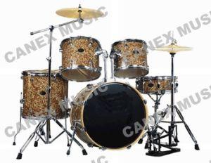 Le tambour a placé le tambour de kit de tambour de 5 PCS//celluloïde réglé (DC2251)