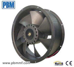 254X89mm Ventilateur axial DC
