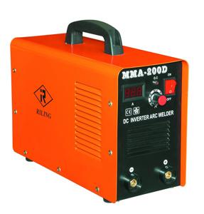 máquina de soldadura do inversor MMA da C.C. 200AMP (MMA-200D)