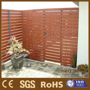Jard n puerta valla granja y trellis hecho por el for Puerta jardin madera