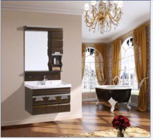 Sanitaryware New Solid Wood Vanity Oak Bathroom Vanity (w-088)