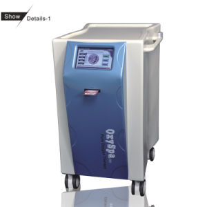 Machine multifonctionnelle de beauté de l'oxygène de face et de corps utilisée dans la STATION THERMALE médicale (OxySpa (II)+W)