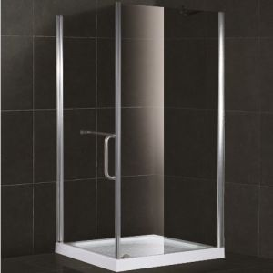 Bijlage van de Douche van het Glas van de manier de Vierkante Aangemaakte (SR905)